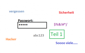 Das richtige Passwort – Teil 1